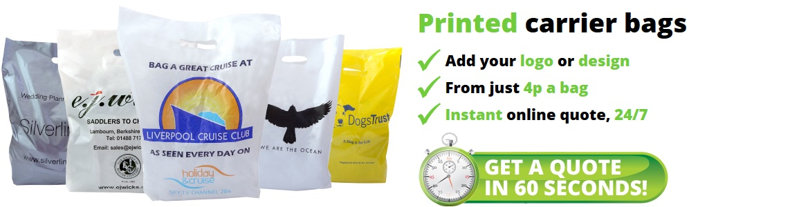 Vest Carrier Bags Instant Quote